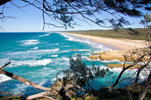 North Stradbroke Island Photo © Michael Dawes