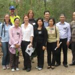 From left: Ms. Tal Polak, PhD Candidate, University of Queensland; Dr. Martina Di Fonzo, Postdoctoral Research Fellow, University of Queensland; Ms. Lisa Carter, Ecologist, Logan Water Alliance; Mr. Murray Swales, Natural Areas Officer, Logan Water Alliance; Ms. Bui Hoa Binh, National Project Coordinator, GMS Biodiversity Conservation Corridors Project, Ms. Karen Brock, Senior Projects Officer, Wildlife Queensland; Ms. Ewa Meyer, Projects Manager, Wildlife Queensland; Ms. Le Minh Toan, Director, Department of Planning and Finance, Vietnam Environment Administration; Mr. Ngo Xuan Quy, Deputy Head, Division of Biodiversity Conservation Planning, Biodiversity Conservation Agency, Vietnam Environment Administration; Ms. Vu Hong Diep, Senior Official, Department of Science and Technology, Vietnam Ministry of Natural Resources and Environment; Mr. Nguyen Vien Dan, Deputy Director General, Department of Planning, Vietnam Ministry of Natural Resources and Environment; Dr. Pham Anh Cuong, Director, Biodiversity Conservation Agency, Vietnam Environment Administration; Cr Don Petersen, Chairperson Roads & Water Infrastructure Committee, Logan City Council Photo © Wildlife Queensland