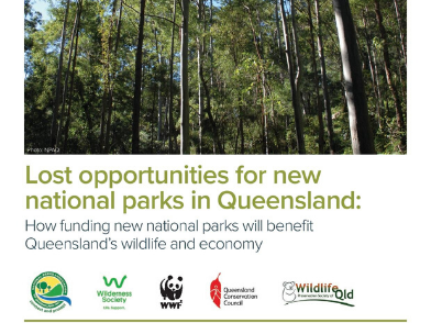 Lost opportunities for new national parks in Queensland: report