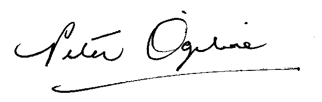 Peter Ogilvie signature